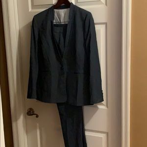 Custom made Grey pant suit $40